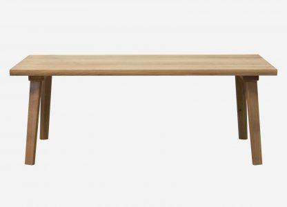 Plankebord lavet af egetræ fra et og samme træ